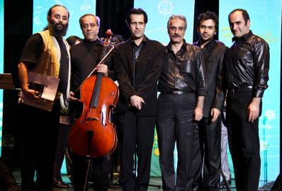 نوازندگان حرفه ای کنسرت گروه لیله القدر