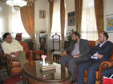دیدار گروه لیله القدر با سفیر ایران در ترکیه