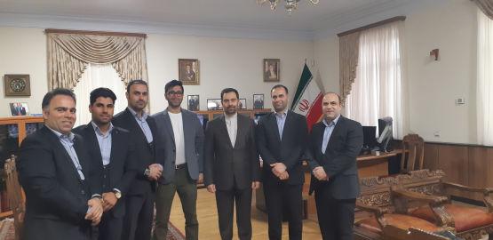 دیدار گروه لیله القدر با سفیر ایران در ارمنستان